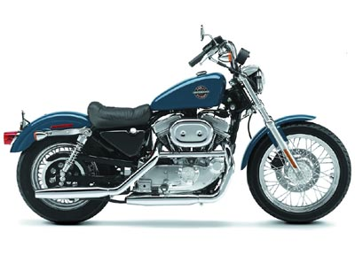Harley Davidson XLH 883 Hugger 1988