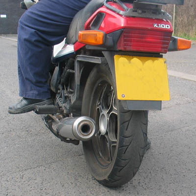 Motad Replacement Silencer  image 2