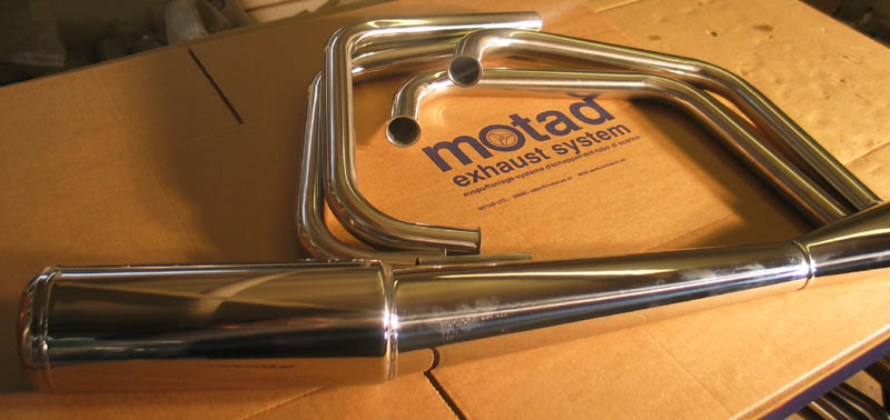 Motad Complete Exhaust System  image 1