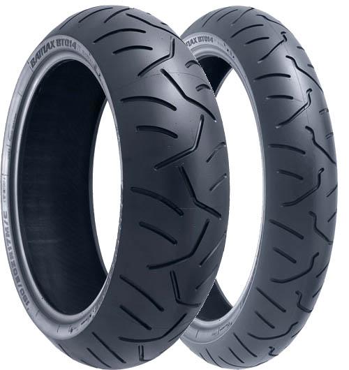 190//50 ZR 17 Bridgestone BT016 Pro Hypersport  Motorcycle Tubeless Rear Tyre