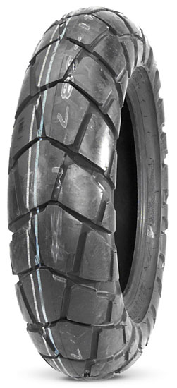 Bridgestone, TW204, Rear Tyre, 180/80-14 M/C 78P, Trail wing On / Off road TW125 TW204 Trail Wing Dual Purpose Rear Tire A 4-ply front/rear combination designed primarily for dual sport use Special d