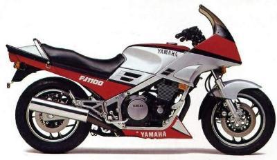 Tyres Yamaha FJ1100 1983 to 1985